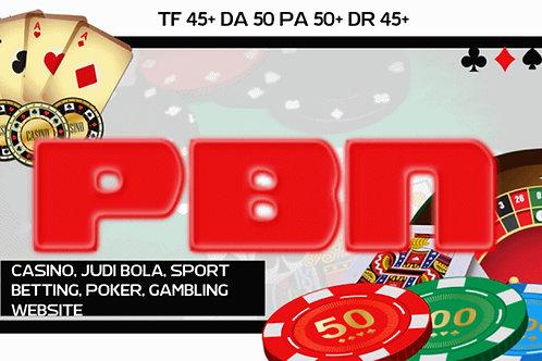 120 Homepage PBN Casino Poker Slot online Betting Agen Judi Bola