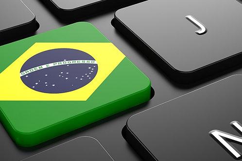 Buy Brazil Web Traffic For 30 Days 4+min AVG Time Duration