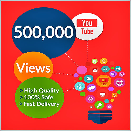 500,000 Hight Quality Youtube Views