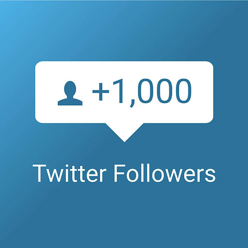 Provide 1,000 High Quality Twitter Followers