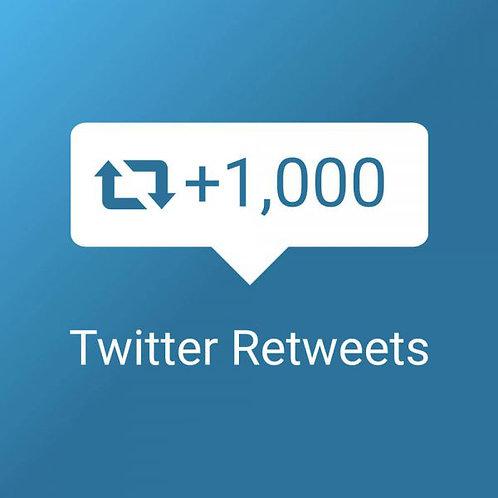 Get 1,000 Twitter Retweets