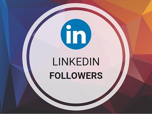 Get 500 LinkedIn Followers
