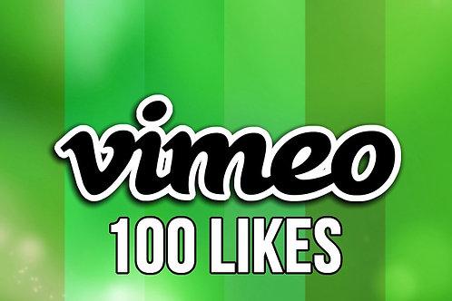 Get 100 Vimeo Likes