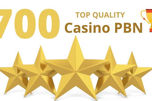 Top quality 700 Casino/Gambling/Poker/Betting web 2.0 Pbn