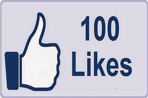 Get 100 Facebook Post  Likes