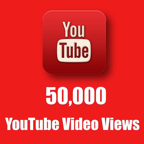 50,000 Hight Quality Youtube Views