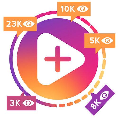 6,000 INSTAGRAM STORY OR TV VIEWS