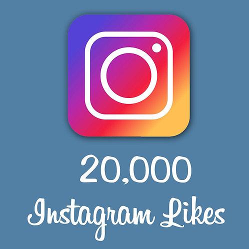 Get 20,000 Instagram Likes