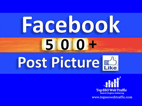 Get 500 Facebook Post Like