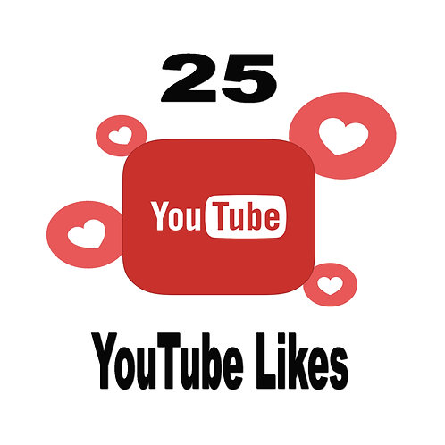 Get 25 YouTube Likes