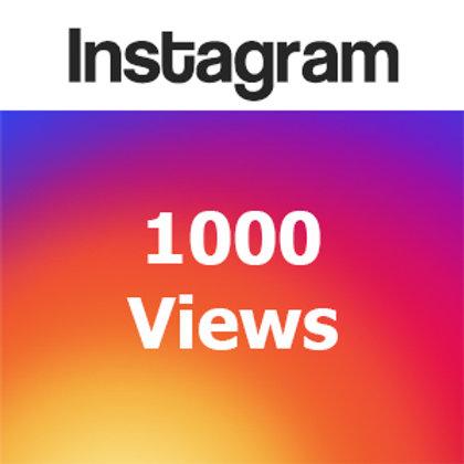 Provide 1,000 Instagram Video views