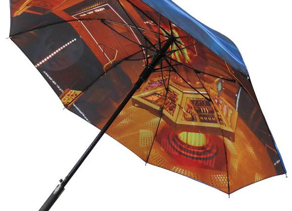Umbrella Doctor Who TARDIS