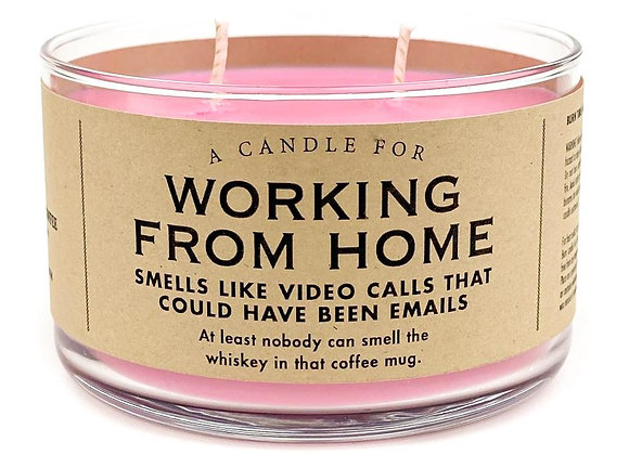 Candle Working from Home