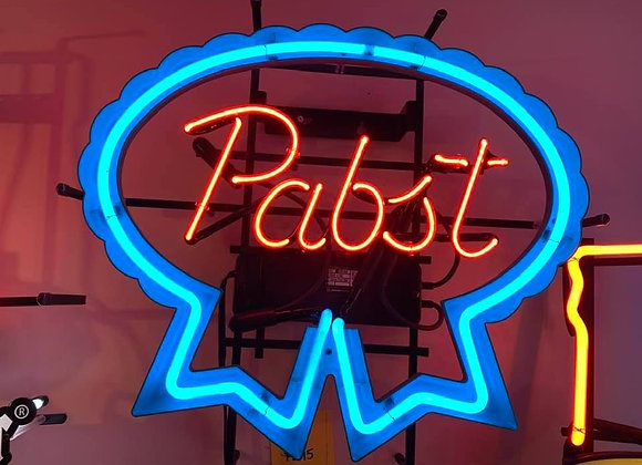 Pabst Neon Light