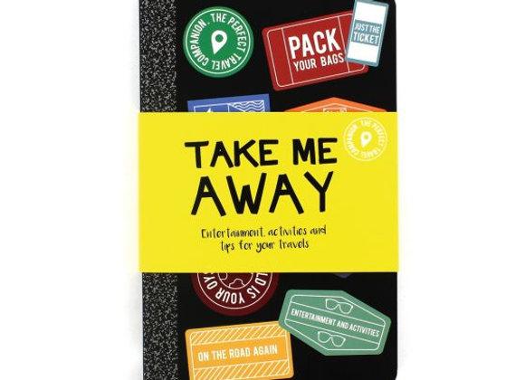 Take Me Away Travel Book
