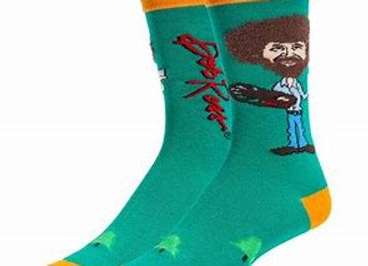 Mens True Bob Ross Socks