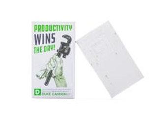 Duke Cannon Productivity WINS Soap