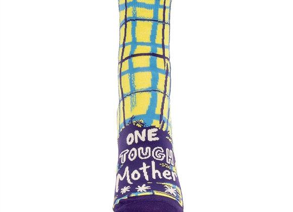 Womens One Tough Mother W-Ankle Socks