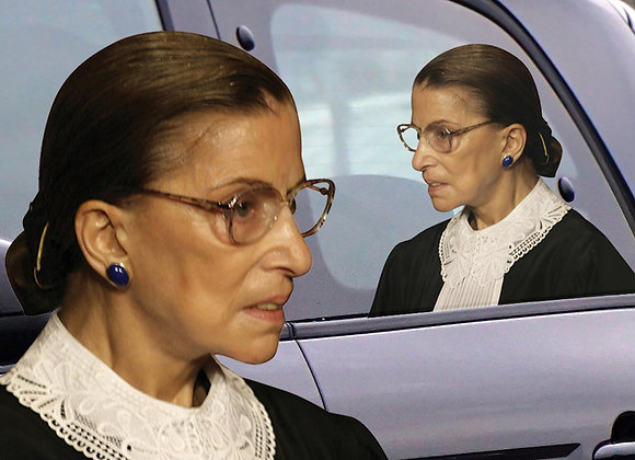 Ride Along With RBG ~ Ruth Bader Ginsburg