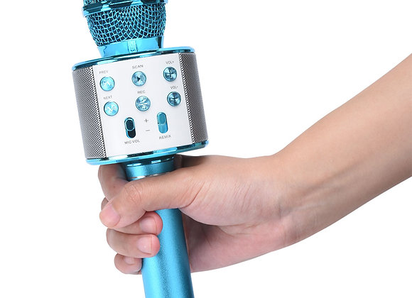 Blue Touth Karaoke Microphone (Blue)