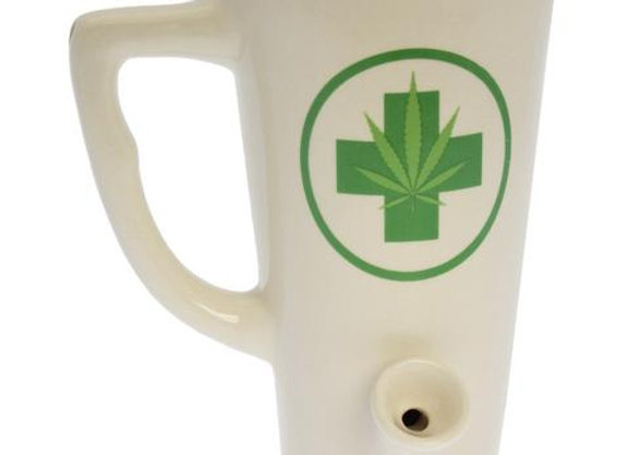Green Medic Tall Wake N Bake Mug