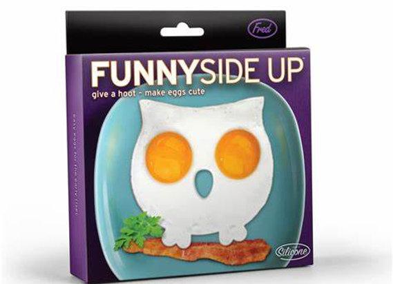 Owl Egg Mold ~ Sunny Side Up