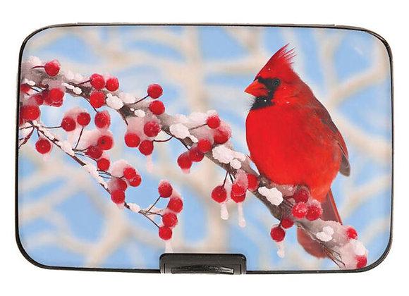 Armored Wallet Cardinal