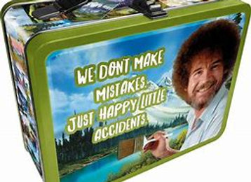 Bob Ross Happy Accidents Lunch Box