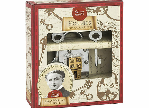 Great Minds Houdini's Escapology Puzzle