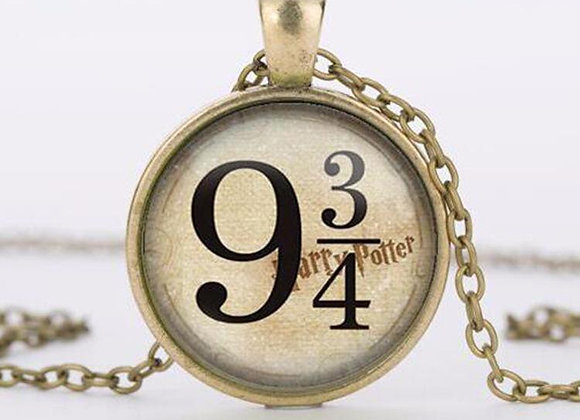 Harry Potter 9 3/4 Necklace