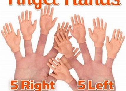 Set of 10 Finger Hands