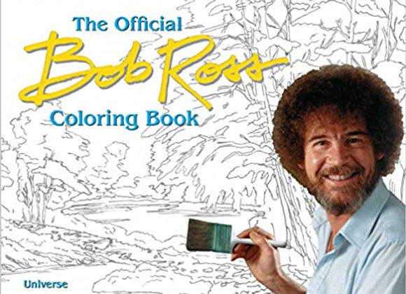 The Bob Ross Coloring Book Paperback