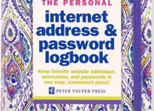 Internet Log Book Purple