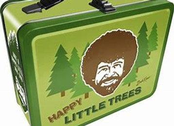 Bob Ross Happy Little Trees Lunch Box