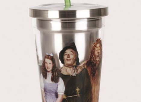 Wizard Of Oz Stnls Cup W/straw