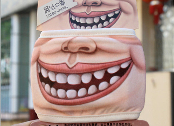 Funny Big Smile Face MASK