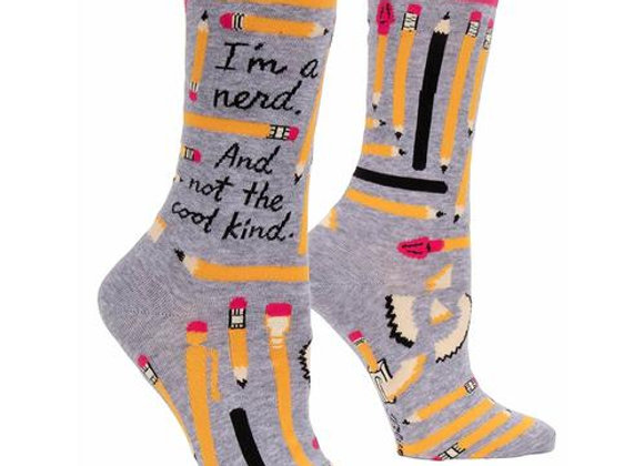 Womens Not a Cool Nerd Socks
