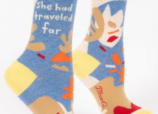 Womens Traveled Far Socks