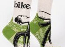 Womens Bike Path W-Crew Socks