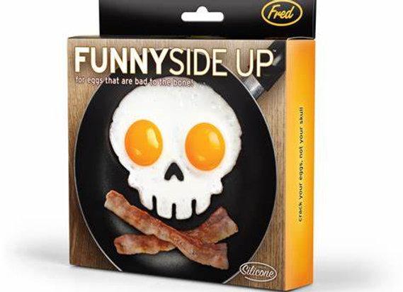 Skull Egg Mold ~ Sunny Side Up
