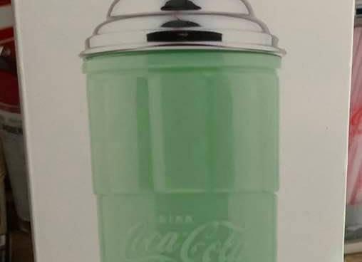 Tablecraft Coca-Cola Straw Holder