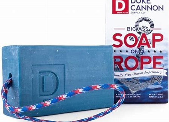 Duke Cannon Soap On a Rope
