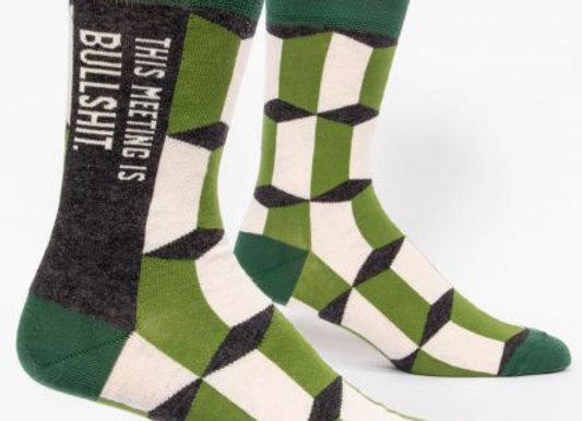 Mens Meeting Socks