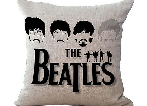 Beatles Fab 4 Pillow Case