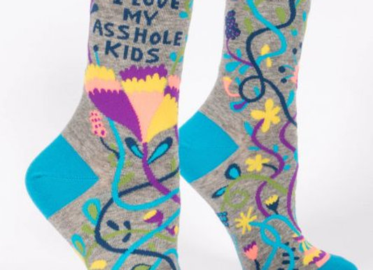 Womens My A**hole Kids SOCKS