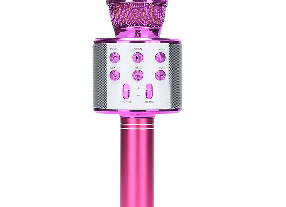 BlueTooth Microphone (Pink)