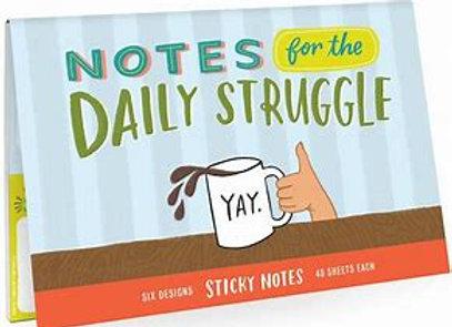 Daily Struggle Sticky Note Packet