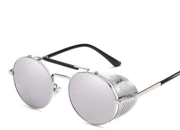 Silver Stempunk with silver lenses