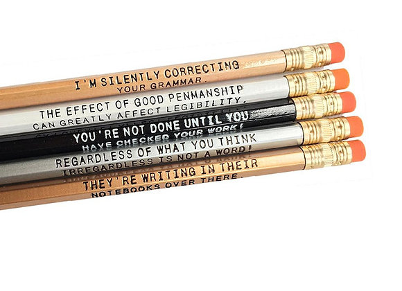5 Silently Correcting Pencils