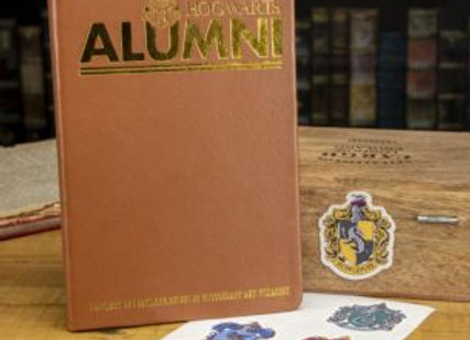 Hogwarts Alumni Notebook & Sticker Set